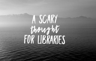Scary thought for libraries magazine subscription service